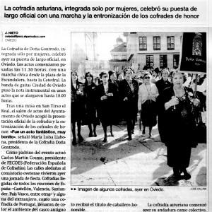 La Voz de Asturias, 29/10/2006