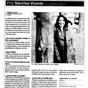 La Voz de Asturias, 24/03/2007