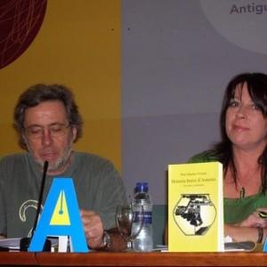 Presentación nel CCAI con Chema Vega