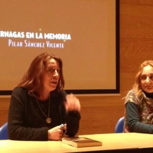 Con Carmen Barrera