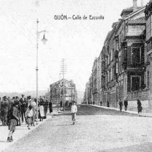 Gijon - Calle de Ezcurdia
