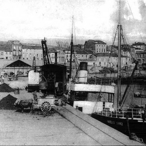 Muelle de Lequerica - 1910