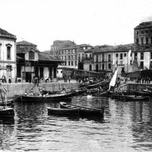 Muelle de la Aduana - La Rula 1920