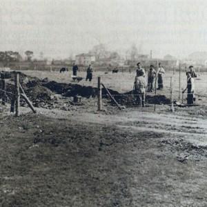 Primeros Trabajos para parque de Isabel la Catolica