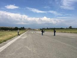 La vecchia pista di atterraggio