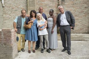 Carmine, Dario, Fatou, Ilaria ,Riccardo e Tiziana