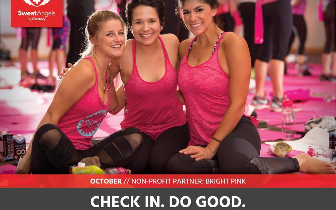 OCTOBER Sweat Angels – Bright Pink
