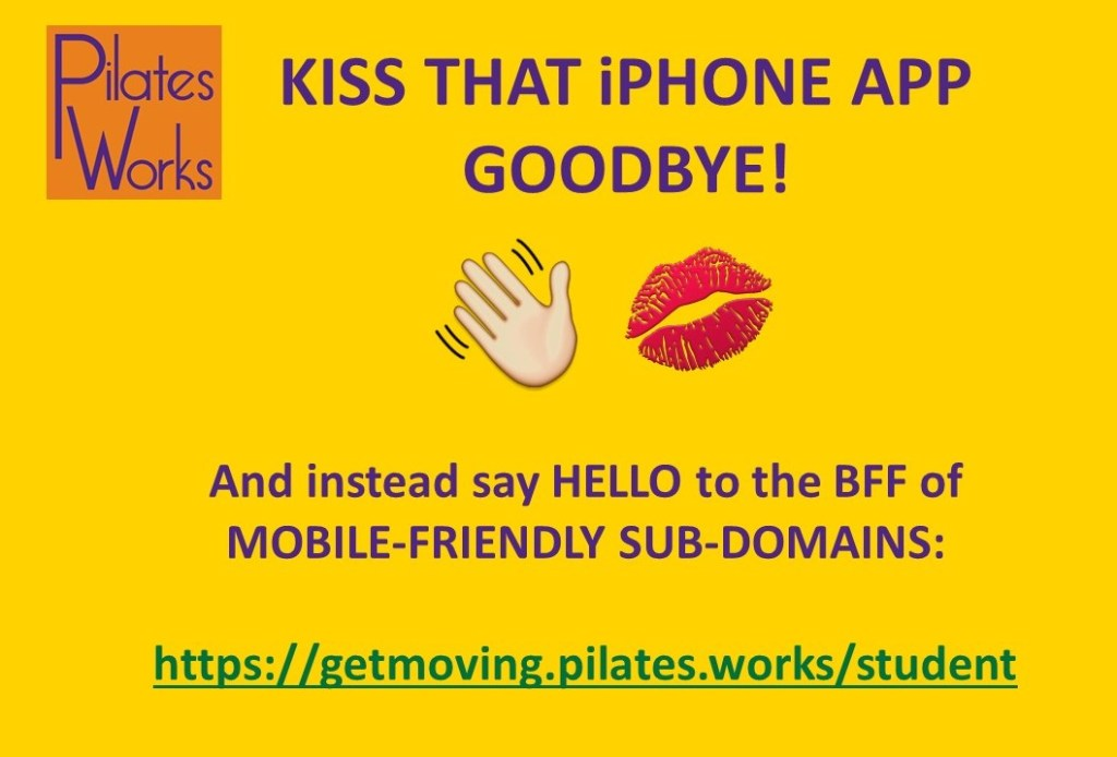 Kiss That iPhone App Goodbye