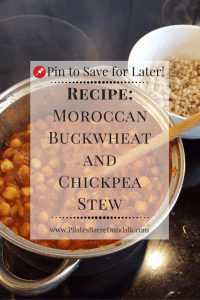 Moroccan Buckwheat and Chickpea Stew Recipe