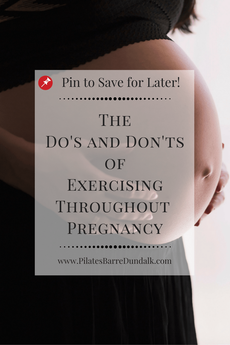 The Do's and Don'ts of Exercising Throughout Pregnancy, Prenatal Exercise Guide