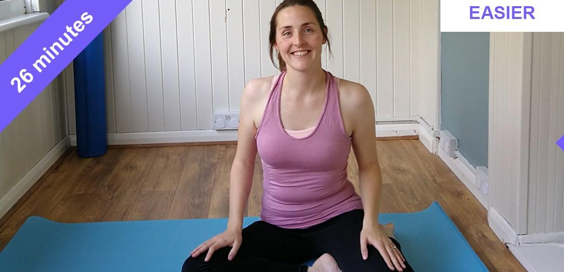 Simple Pilates workout