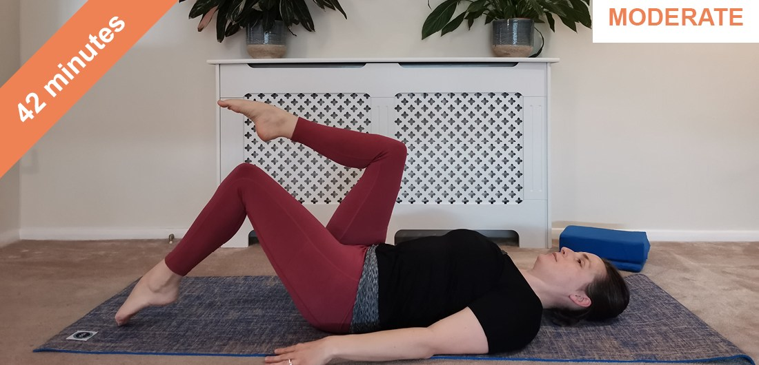 All over toning Pilates workout