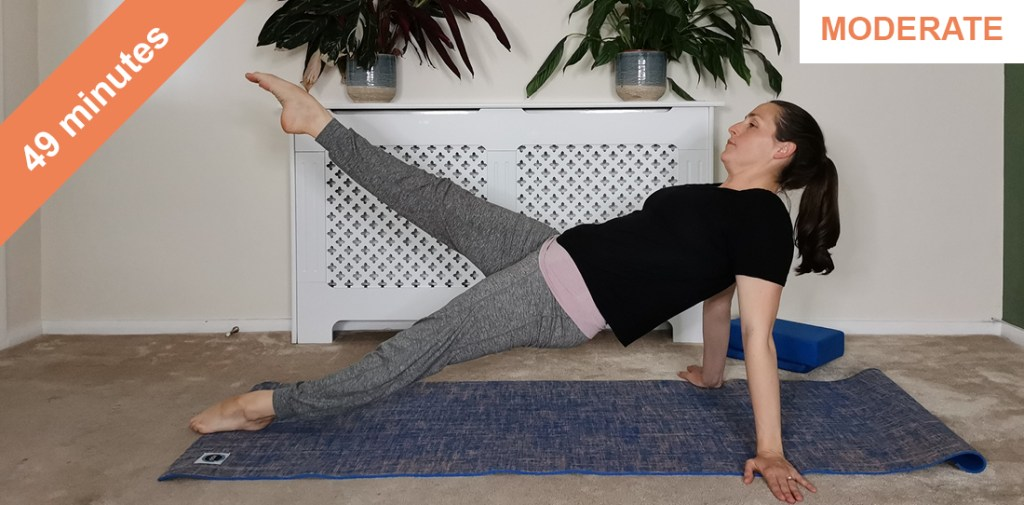 core and upper body Pilates