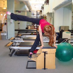 Malibu Pilates Pro Chair Desk Target Exercises