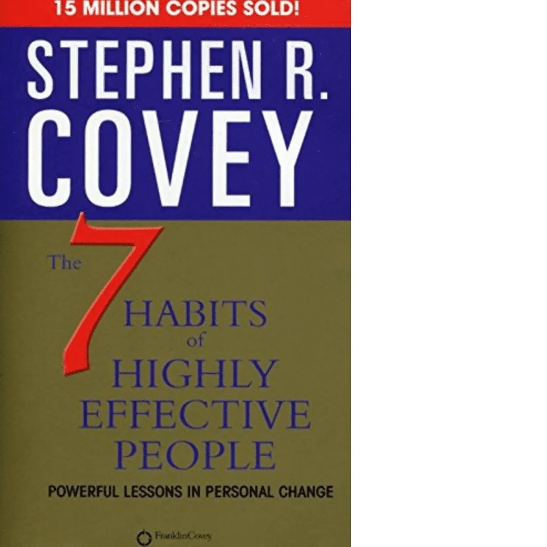 The 7 Habits Of Highly Effective People By Stephen R