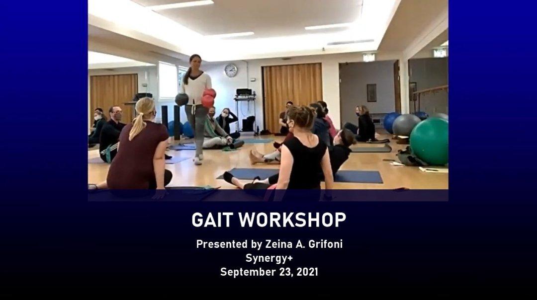 Gait workshop for pilates instructors
