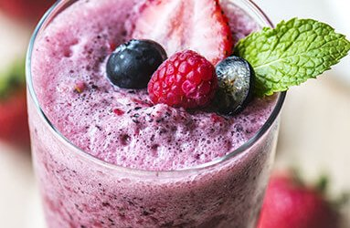 Red, White and Blue Smoothie