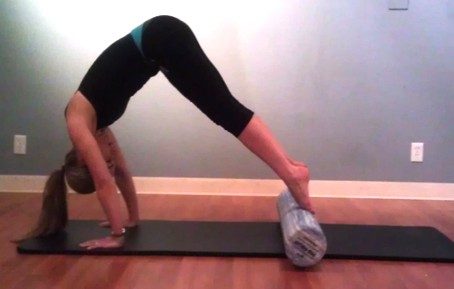 Use the Foam Roller to Release Stand Taller and Work