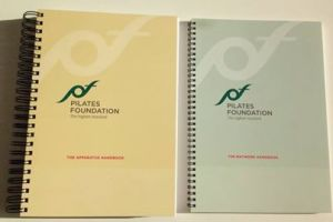 Pilates Foundation Handbooks