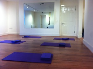 Inside the PIlates teaching room at The Wellbeing Studio