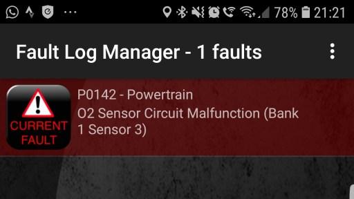 Mercedes P0142 O2 Sensor Fault