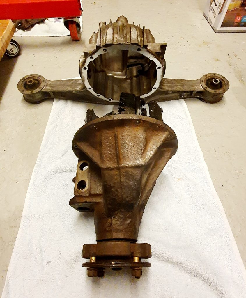 Mazda MX-5 Limited Slip Differential Casing Separated