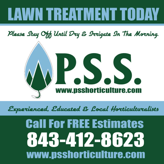 New yard sign for PSS Horticulture!