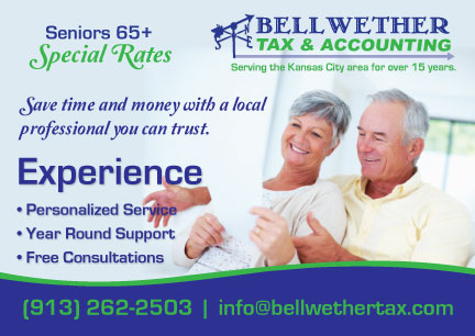 New Promotional Postcard for Bellwether Tax & Accounting!