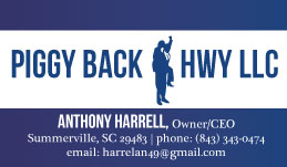 New Business Cards for Piggyback Hwy