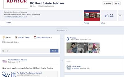 New Social Media for KCRealEstateAdvisor.com