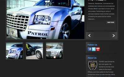 New Website for T.A.P.S of Kansas City!