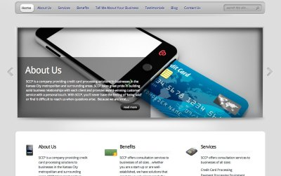 New Website for Simplified Credit Card Processing (SCCP)