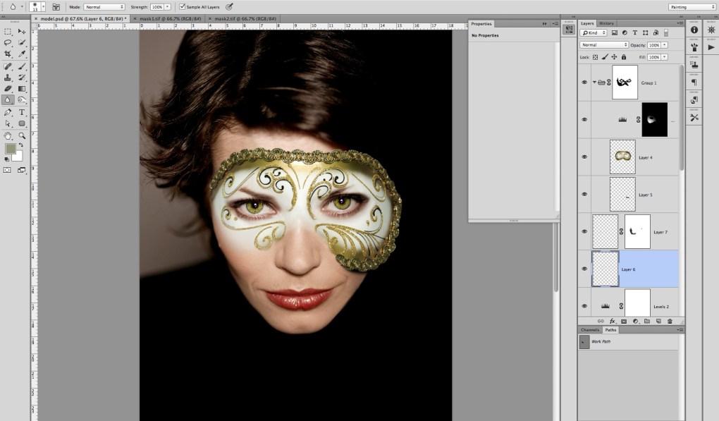 model-mask-10