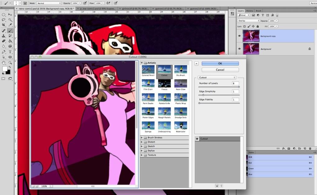 digital comic art 33
