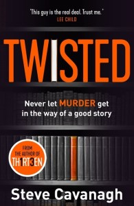 Twisted by Steve Cavanagh
