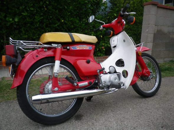 i m selling my scooter low miles 1981 honda c70 passport pilez driverz. Black Bedroom Furniture Sets. Home Design Ideas