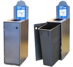 Station Recyclage Dechets Metal Plastique Modulo-901 Pile PourlaVie