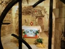 Mary's house inside the basilica
