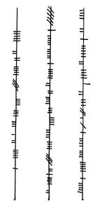 Ogham inscription 001