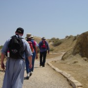 Pilgrims in the Holy Land
