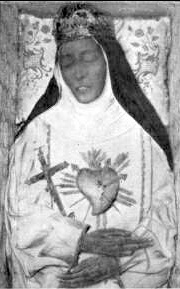Saint Eustochia's incorrupt body