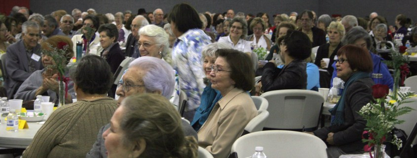 Catholic Seniors' Conference crowd