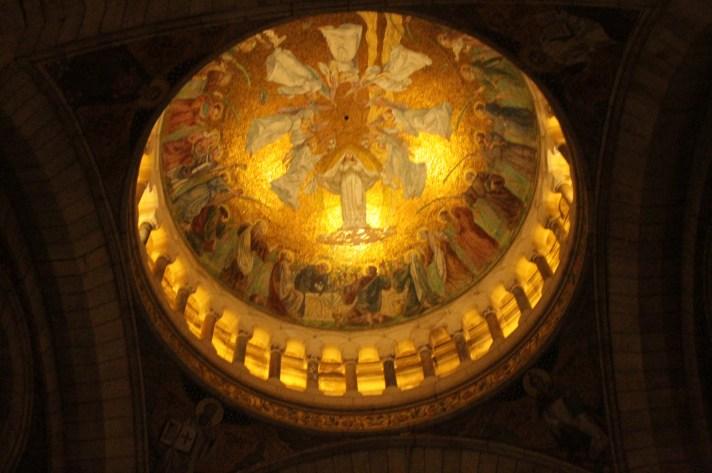 The Interior of the North Dome, Sacre Coeur,_Paris-Stephencdickson, CC BY-SA 4.0, via Wikimedia Commons