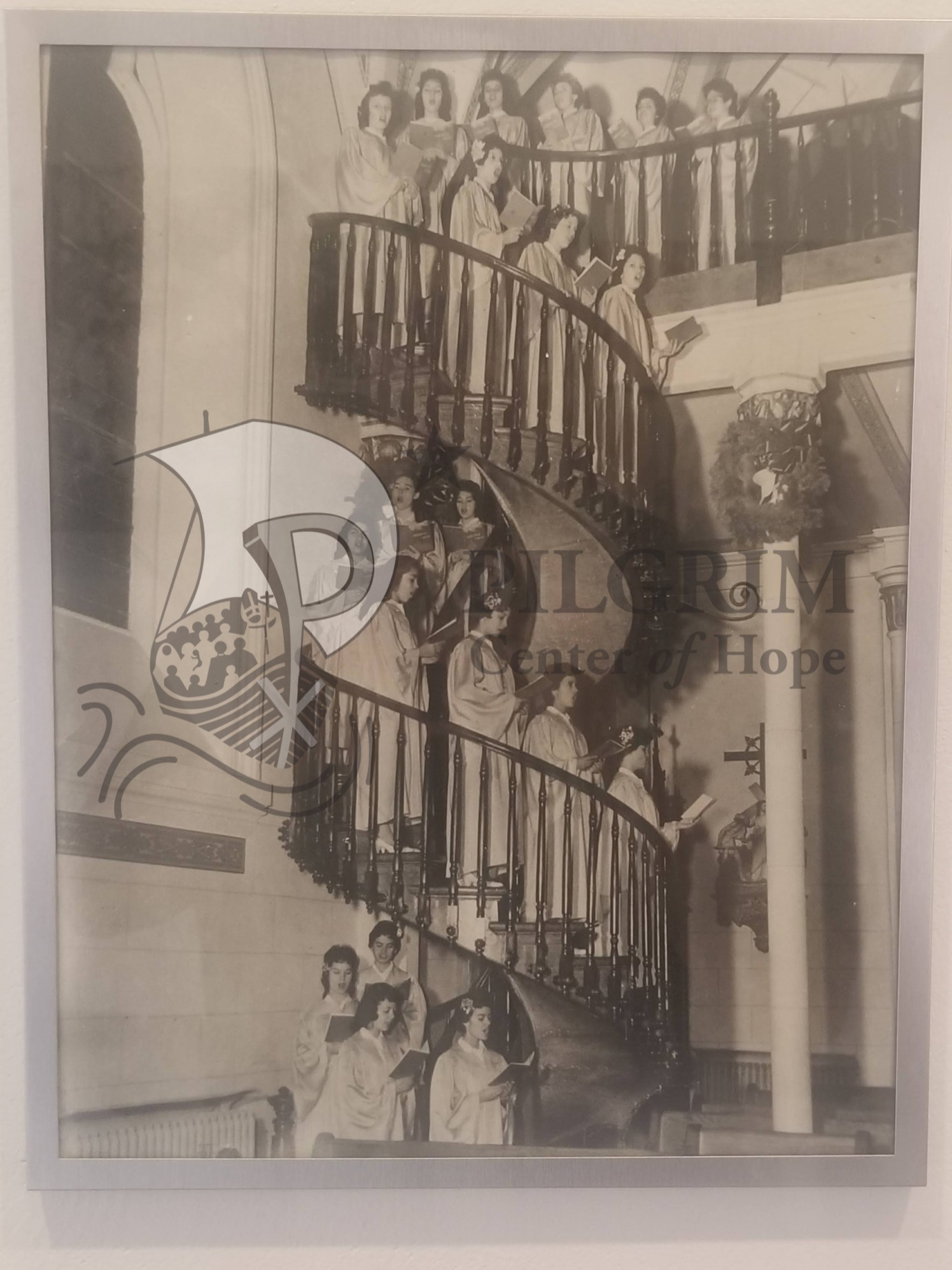 Miraculous Staircase in Use