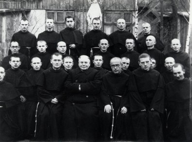 Group Picture with St. Maximilian Kolbe