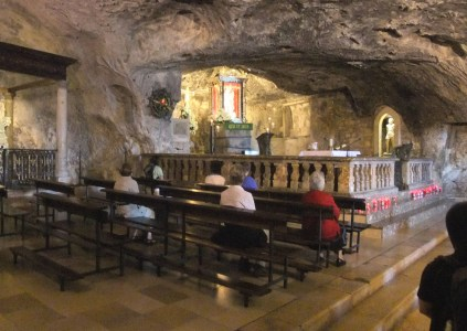 The Sanctuary of St Michael the Archangel - Interior - Nikater, CC BY-SA 3.0, via Wikimedia Commons
