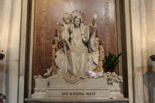 Regina Pacis -Queen of Peace - Rome_Santa_Maria_Maggiore_2020_P09_Ave_Regina_Pacis