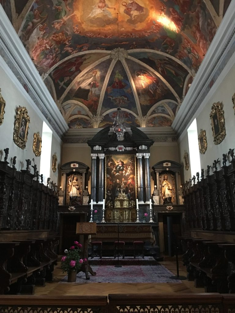 Chapel in the Monastery/Hospice of St Bernard