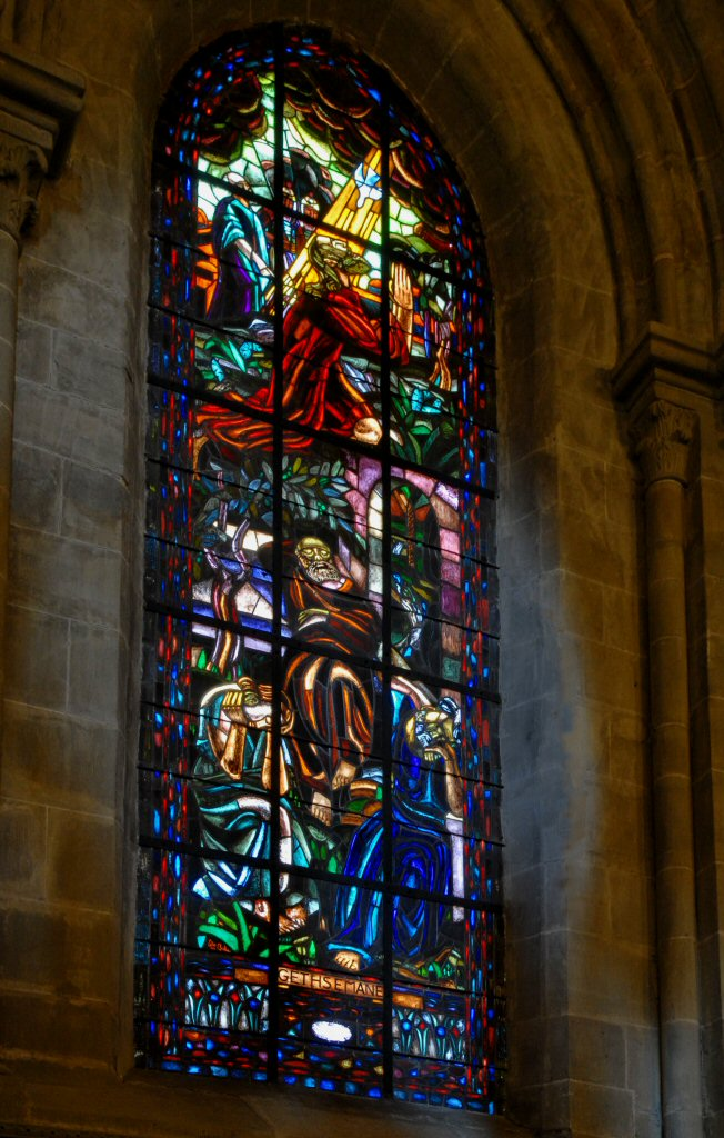 Lausanne Cathedral Window of Gethesemane