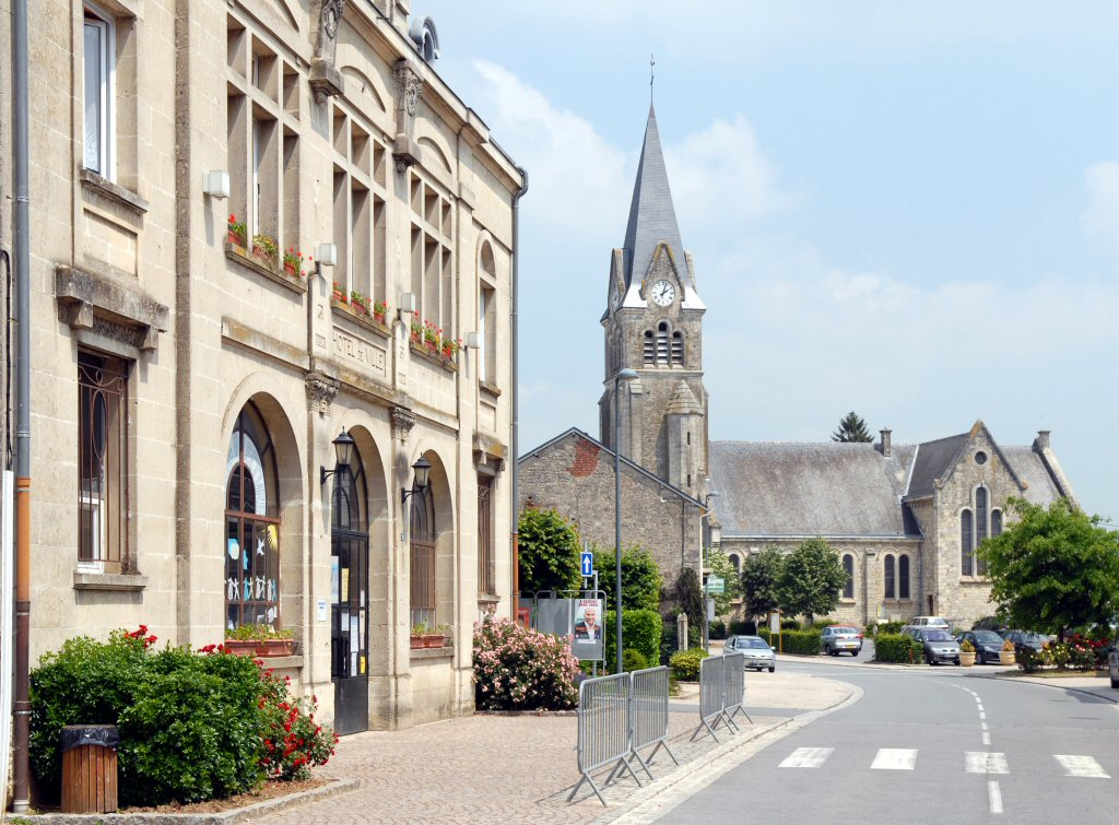 Corbeny Mairie and Eglise